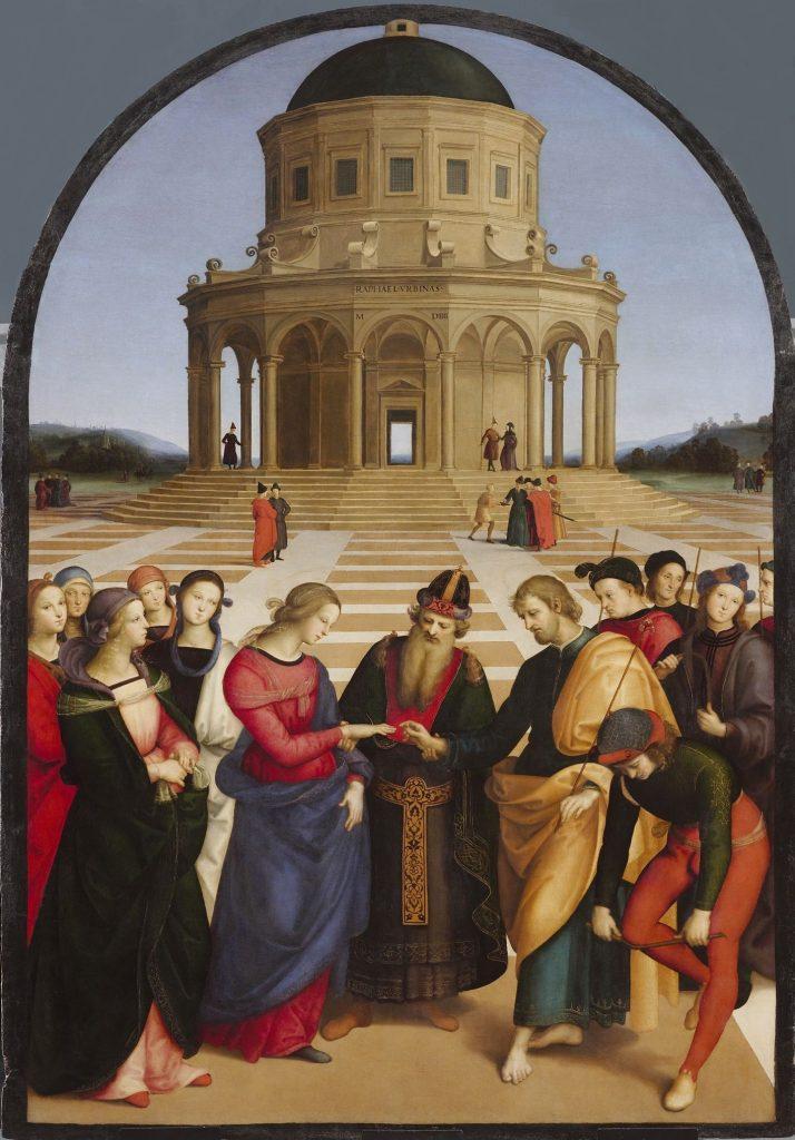 ARTE Raffaello   Spozalizio   Web Gallery of Art 1