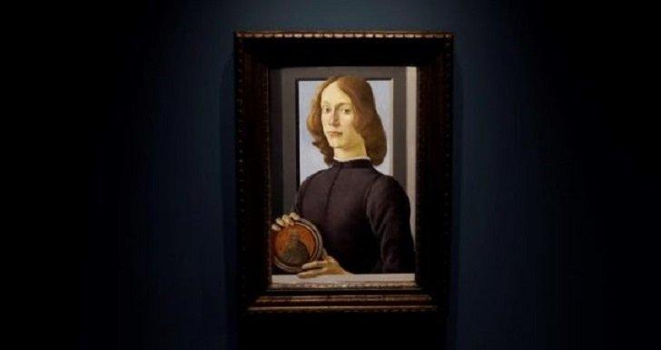 «Retrato de un joven» de Boticelli alcanzó la más alta cifra en la subasta de Sotheby's